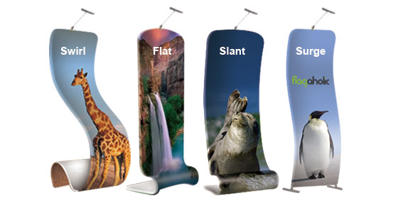 Flat Fabric Banner Stand-1